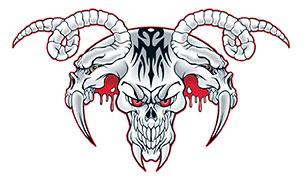 Totenköpfe Tattoo