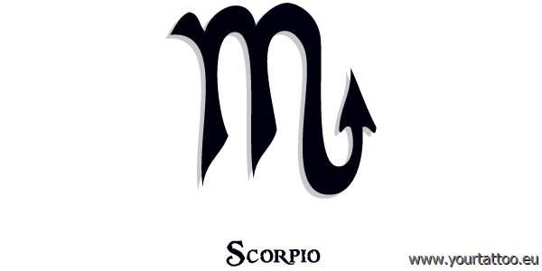 Scorpio Zodiac Tattoo Skorpion Sternzeichentattoo