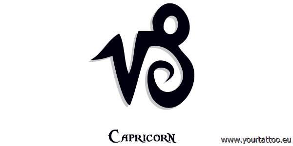 capricon zodiac tattoo steinbock tattoo. Black Bedroom Furniture Sets. Home Design Ideas